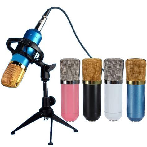 Mic Microphone Condenser Bm700 excellent audio bm700 microphone professional studio