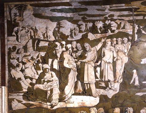 cattedrale di siena pavimento il pavimento rivelato duomo di siena te la do io