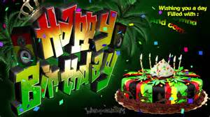 happy birthday reggae cake