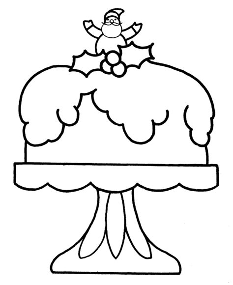christmas cake coloring pages learning years christmas coloring pages christmas cake