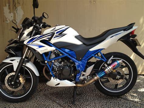 Lu Warna Putih Untuk Motor foto modifikasi motor cb 150 r warna putih keren otopacu