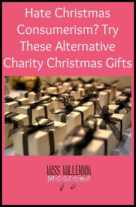 hate christmas consumerism try these alternative charity