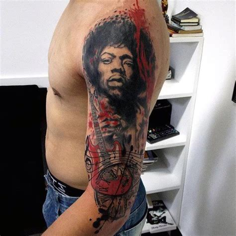 jimi hendrix tattoo designs 60 jimi designs for musical ink ideas