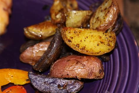 tri color potatoes tri color roasted potatoes recipes we