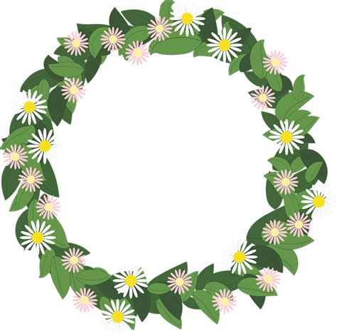 flowers wreath floral free image on pixabay free vector graphic flower wreath rim pr 228 skrage free
