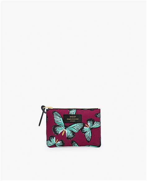 butterfly small pouch wouf