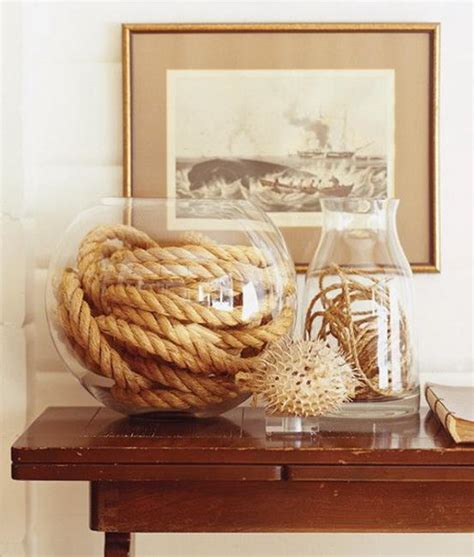 theme home decor enhancing nautical decor theme with sea shell crafts and images
