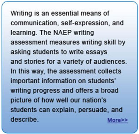 Essential Of Assessment Report Writing by Naep Writing 2007 Executive Summary
