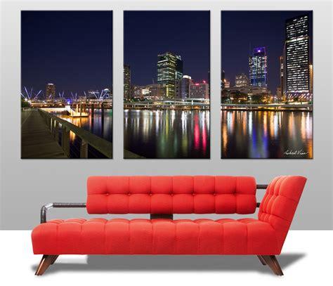 wall stickers brisbane brisbane triptych canvas prints australia