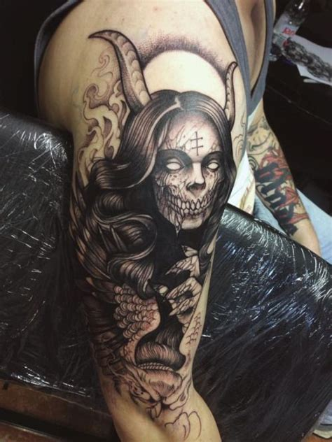 devil girl tattoo 25 best ideas about on