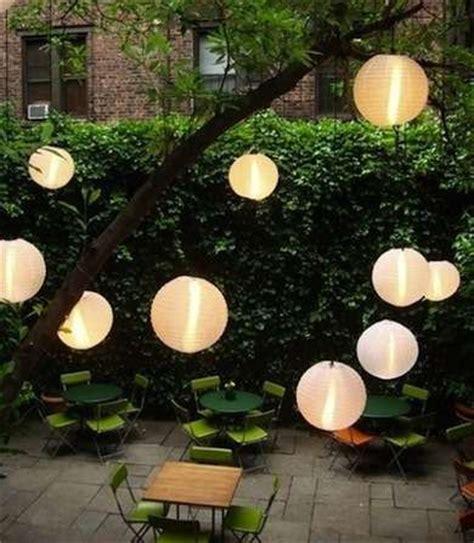 backyard paper lanterns 14 bright ideas for lighting your backyard gardens