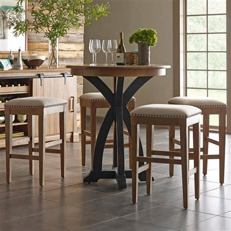 Bistro Table Bar Stools by Furniture Ridge 5 Pc Bistro Table And Bar