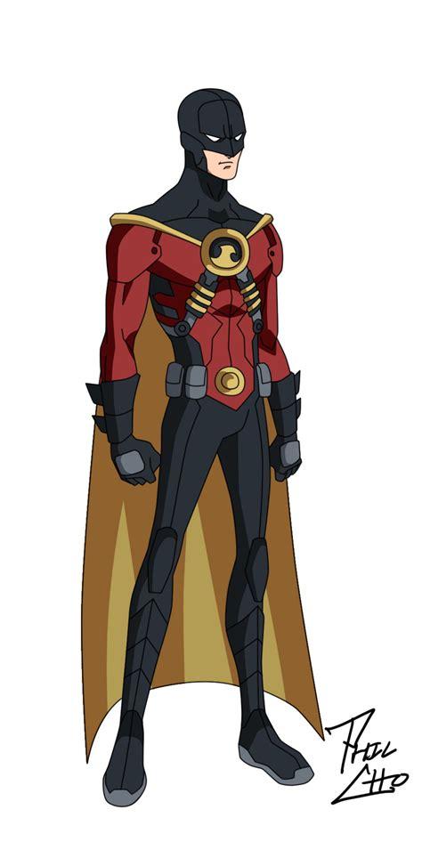 imagenes de batman de justicia joven red robin tim drake v 1 by phil cho on deviantart