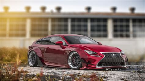 lexus lfa liberty walk concept render 4 liberty walk lexus rc f vlad shurigin