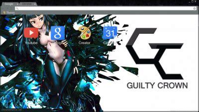 theme google chrome anime guilty crown naruto chrome theme themebeta