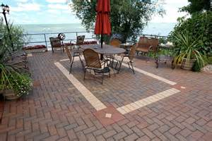 types of patio material and advantages about patio designs contemporary deck and patio ideas