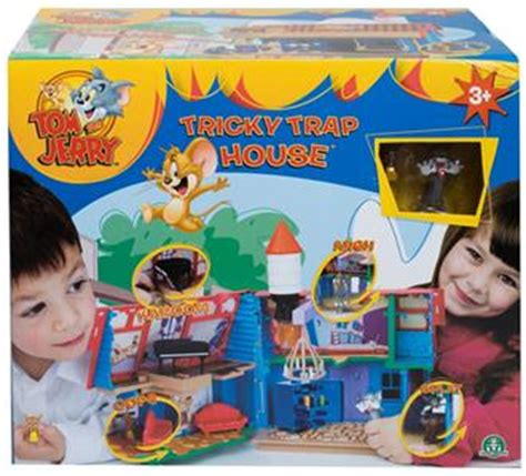 Play Set Tom S tom and jerry tricky trap house childrens play set