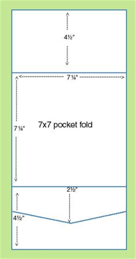 envelope fold card template pocket folds made simple guide to pocket fold
