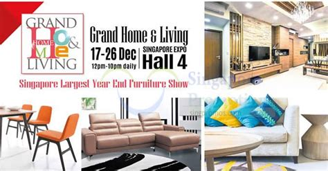 home design expo singapore grand home living furnishing interior design sofa