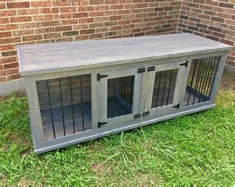 dog crate made out of dresser dog crate furniture etsy