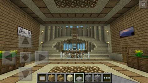 Minecraft Stairs Design Fancy Minecraft Staircase Here You Can See A View Of The Roof Design From The Inside
