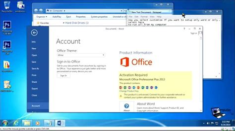 install visio 2013 with office 2010 install microsoft office 2010 2013 step by step