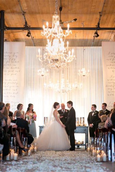 Wedding Backdrop Milwaukee by Rustic Summer Warehouse Wedding At Historic
