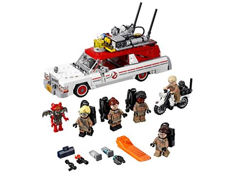 Lego Ghostbuster Minifigures Set Team The ecto 1 2 75828 ghostbusters lego shop