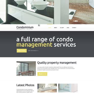 Condo Website Templates Condo Website Templates