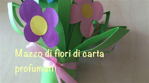 mazzo di fiori di carta mazzo di fiori di carta profumati