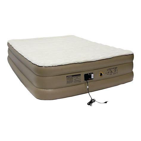 intex pillow rest high air mattress with