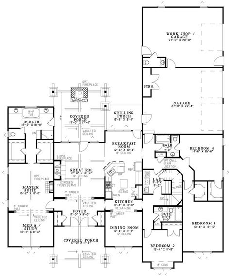 mountain view floor plans mountain view house plan 8649 dream home pinterest