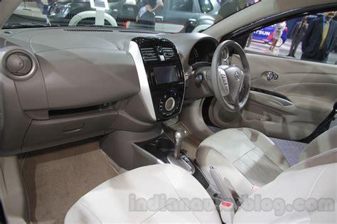 nissan sunny 2002 interior nissan sunny sportech interior at 2016 auto expo indian