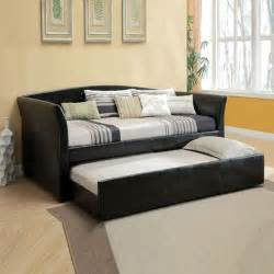 Sofa With Trundle Bed New Modern Day Bed Sofa W Trundle Guest Room College