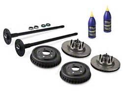 foxbody mustang 5 lug conversion kits & axles