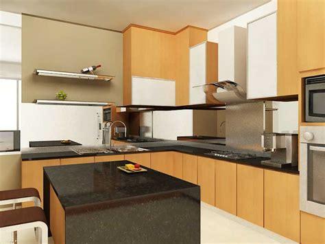 Meja Kayu Dapur dekorasi dapur rumah flat deco untuk ruang tamu kecil