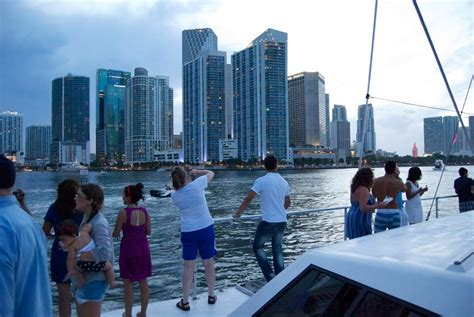 miami party boat tours gallery showcase private charters miamisailing charters