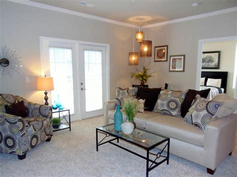 how to stage a living room model apartments and clubhouse contemporary living room indianapolis by center stage design