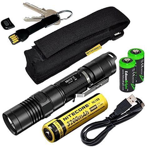 Nitecore 18650 Micro Usb Rechargeable Li Ion Battery 2600mah Nl1826r nitecore mh12 cree xm l2 u2 led 1000 lumen usb rechargeable flashlight 18650 rechargeable li