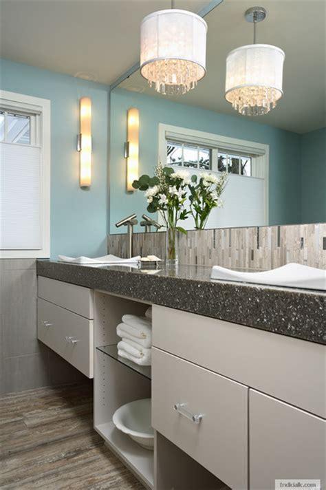 Modern Cottage Bathroom Modern Cottage Contemporary Bathroom Minneapolis By Indicia Interior Design