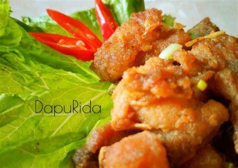 resep ayam goreng mentega krispi oleh ridapangesti cookpad