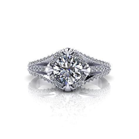 All Engagement Ring by Unique Halo Engagement Ring Jewelry Designs