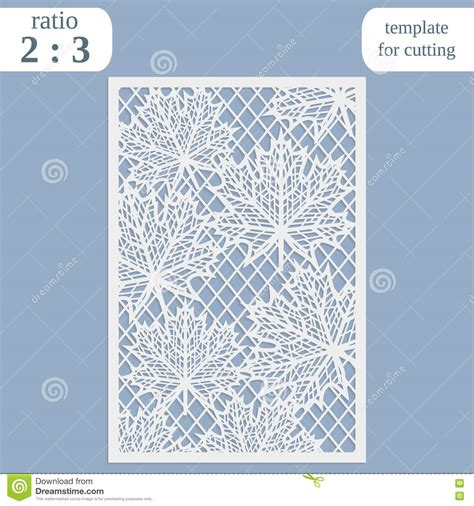 card board templates for steel paper openwork greeting card template for cutting maple