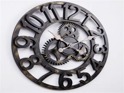 steunk gears tattoo steunk clock wall clock large gear clock 28 images maple s clock