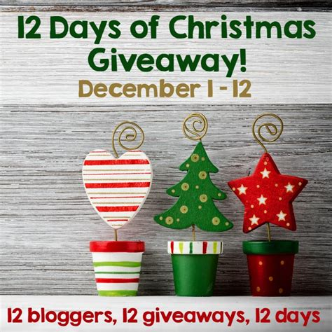 the 12 days of christmas giveaway petals to picots