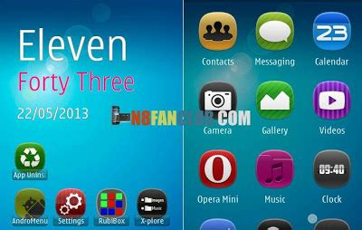 themes nokia blu blu hd theme for nokia n8 belle smartphones signed