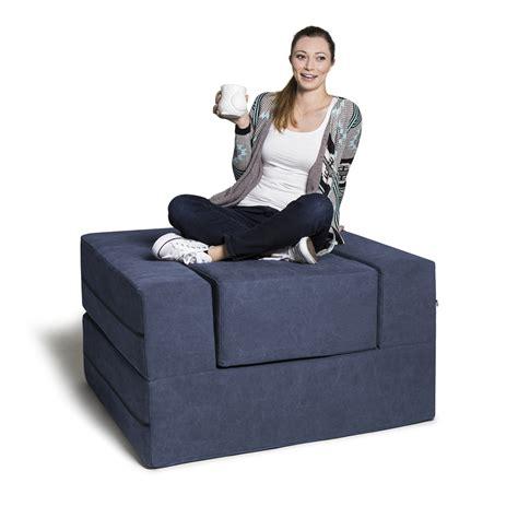 ottoman chair convertible convertible sleeper chair ottoman green jaxx