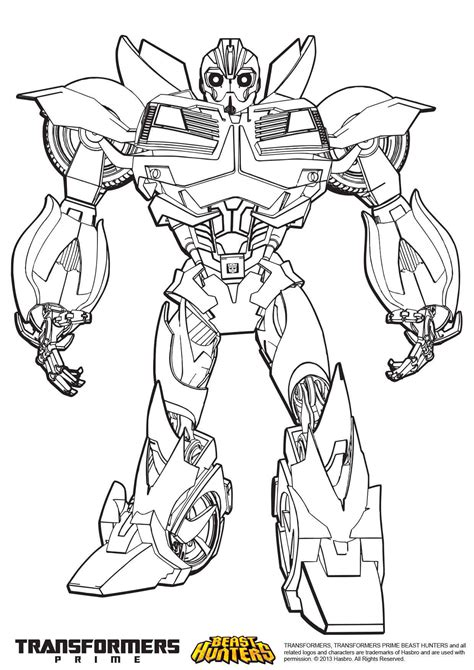 transformers bumblebee coloring pages for kids coloring