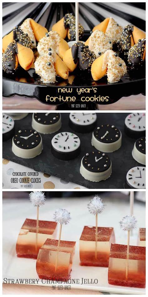 baked new year goodies new years no bake treats pint sized baker