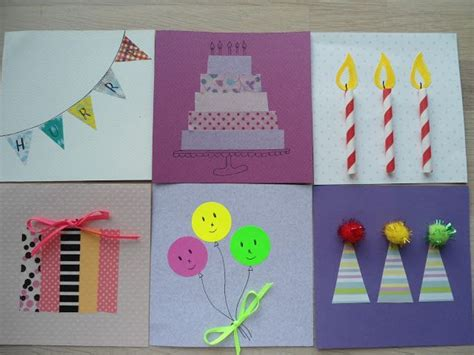 birthday cards you can make mig og mangler du et hurtigt f 248 dselsdags kort